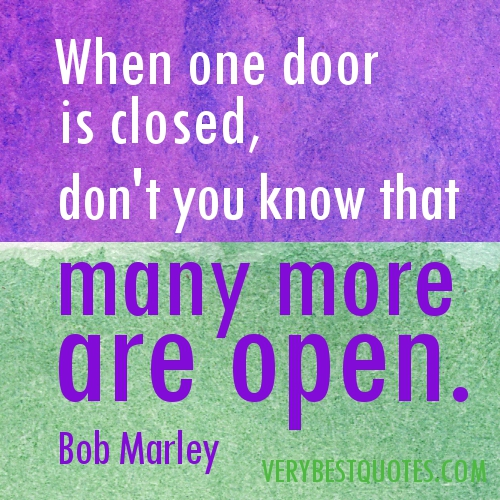 Open And Closed Doors Quotes. QuotesGram