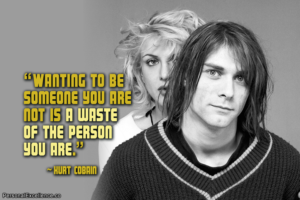 kurt cobain be funny quotes quotesgram