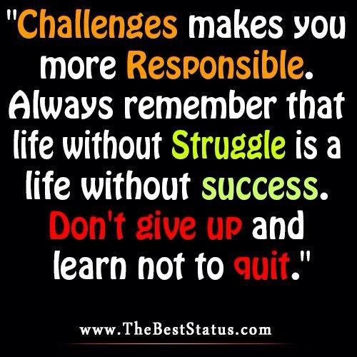 Quotes About Challenges: Funny Quotes About Challenges. QuotesGram