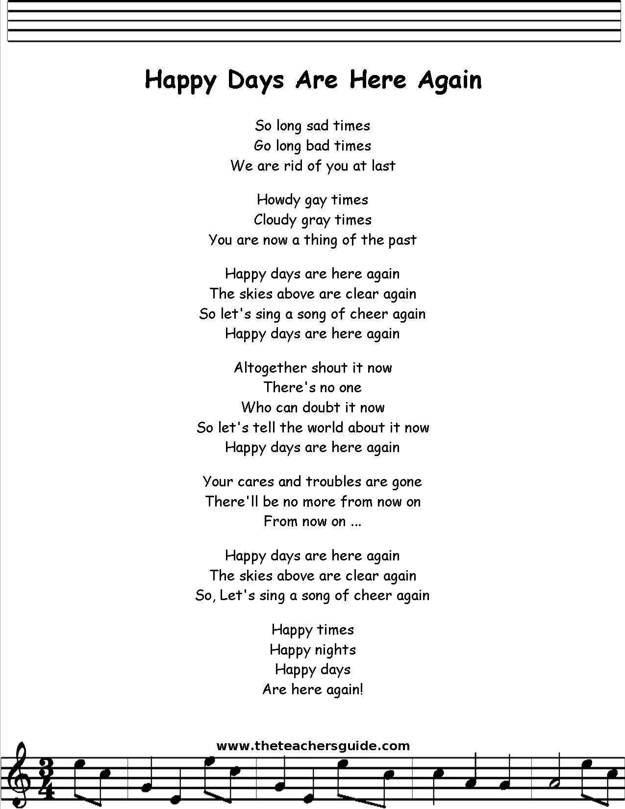 PHARRELL WILLIAMS - HAPPY LYRICS