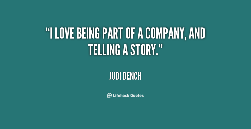 Quotes About Telling A Story. QuotesGram