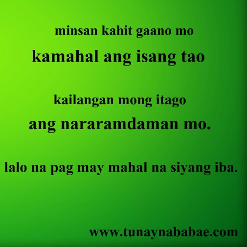 Tagalog Quotes Move On. QuotesGram