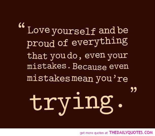 Tumblr Quotes About Loving Yourself 2: Love Yourself Quotes Inspirational. QuotesGram