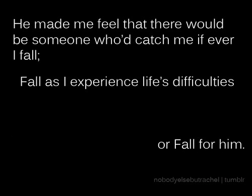 falling in love quotes for him quotesgram