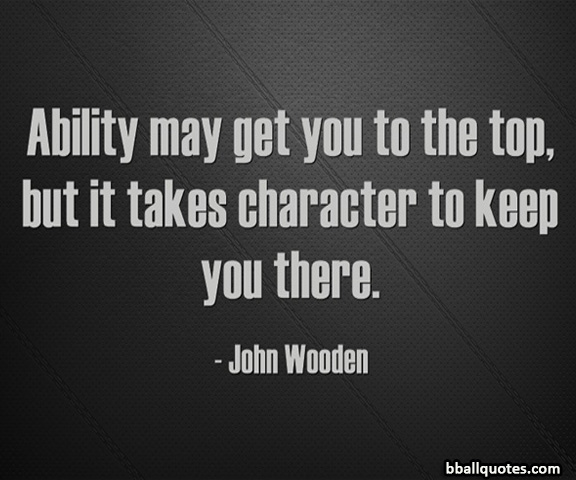 John Wooden Quotes On Love: John Wooden Basketball Quotes. QuotesGram