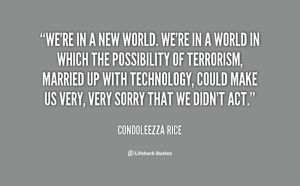 Inspirational Quotes About The Cruel World Quotesgram: Condoleezza Rice Quotes Inspirational. QuotesGram