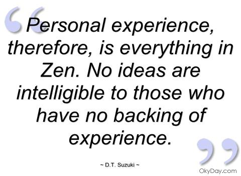 personal experience experiences quotes quotesgram sualci quote quotationof