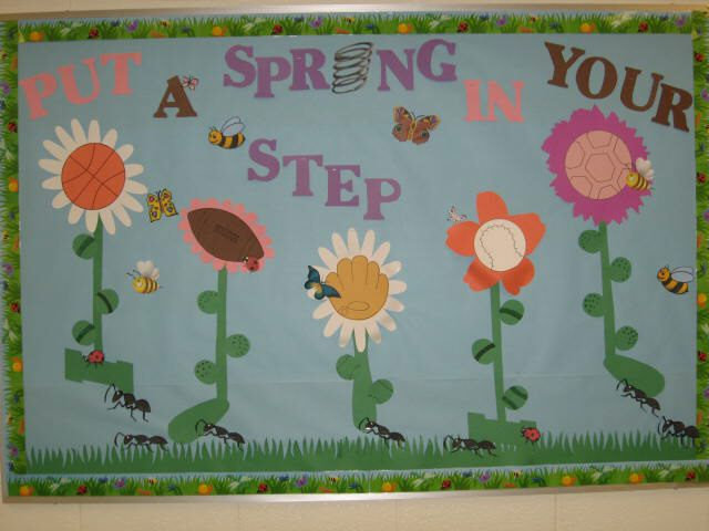 Spring Time Door Decorations Classroom