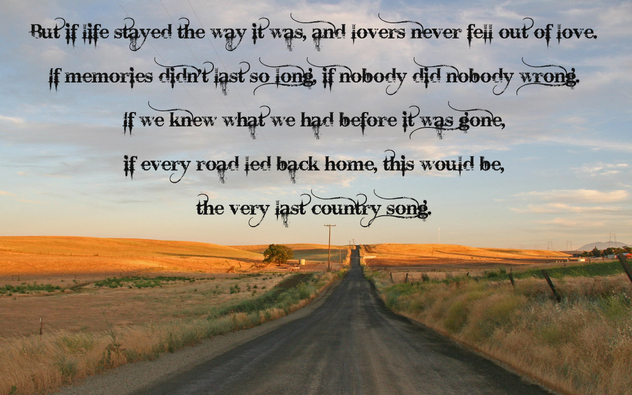 Quotes About Life: Country Music Quotes About Life. QuotesGram