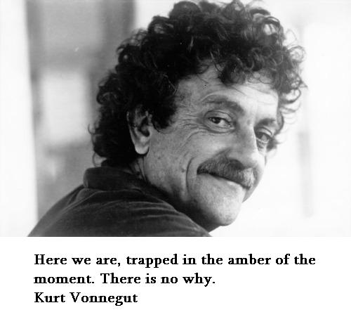 the obligations of a writer in cats cradle by kurt vonnegut Kurt vonnegut, writer, is seen during the summer of 2006 in  title is 'the  children's crusade: a duty-dance with death', rejects a conventional narrative   novel-writing, as he also did in works such as cat's cradle (1963), his.