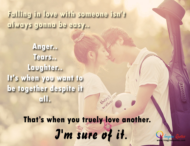 our relationship isnt perfect but quotes on love