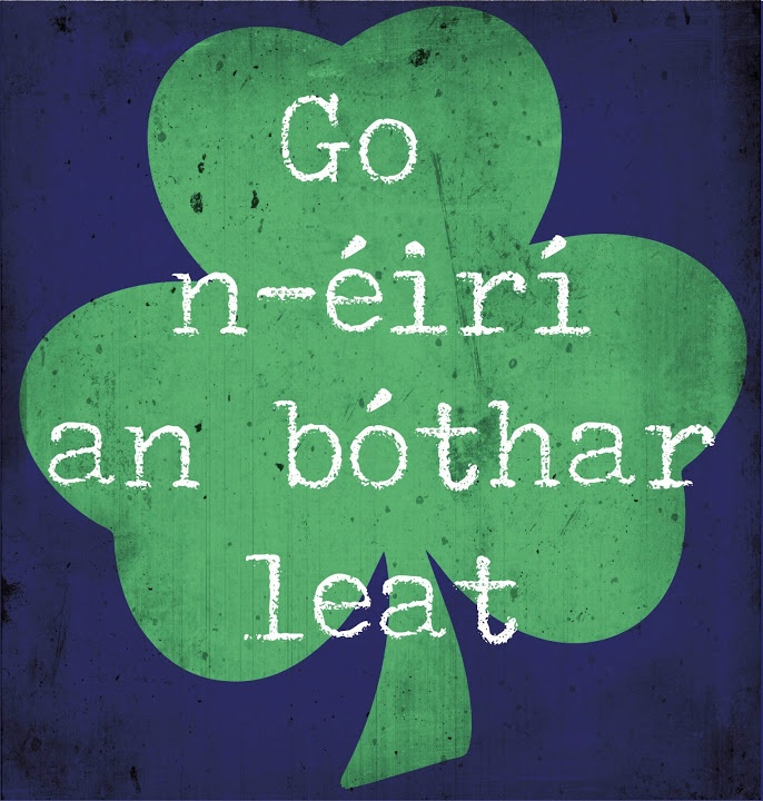 Irish blessings and sayings for good luck