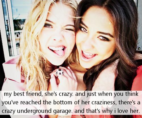 Crazy Best Friend Quotes. QuotesGram