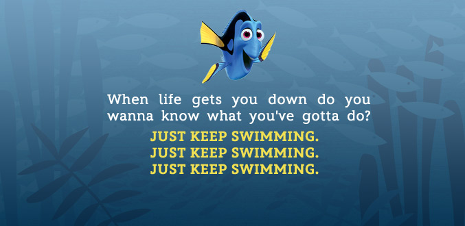 inspirational quotes from finding nemo quotesgram