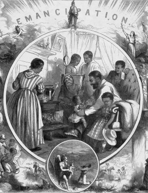 the end of slavery through the emancipation proclamation under the leadership of abraham lincoln One result of the intense struggle over slavery was the dc compensated emancipation act of 1862, passed by the congress and signed by president abraham lincoln the act ended slavery in washington, dc, freed 3,100 individuals, reimbursed those who had legally owned them and offered the newly freed women and men money to emigrate.