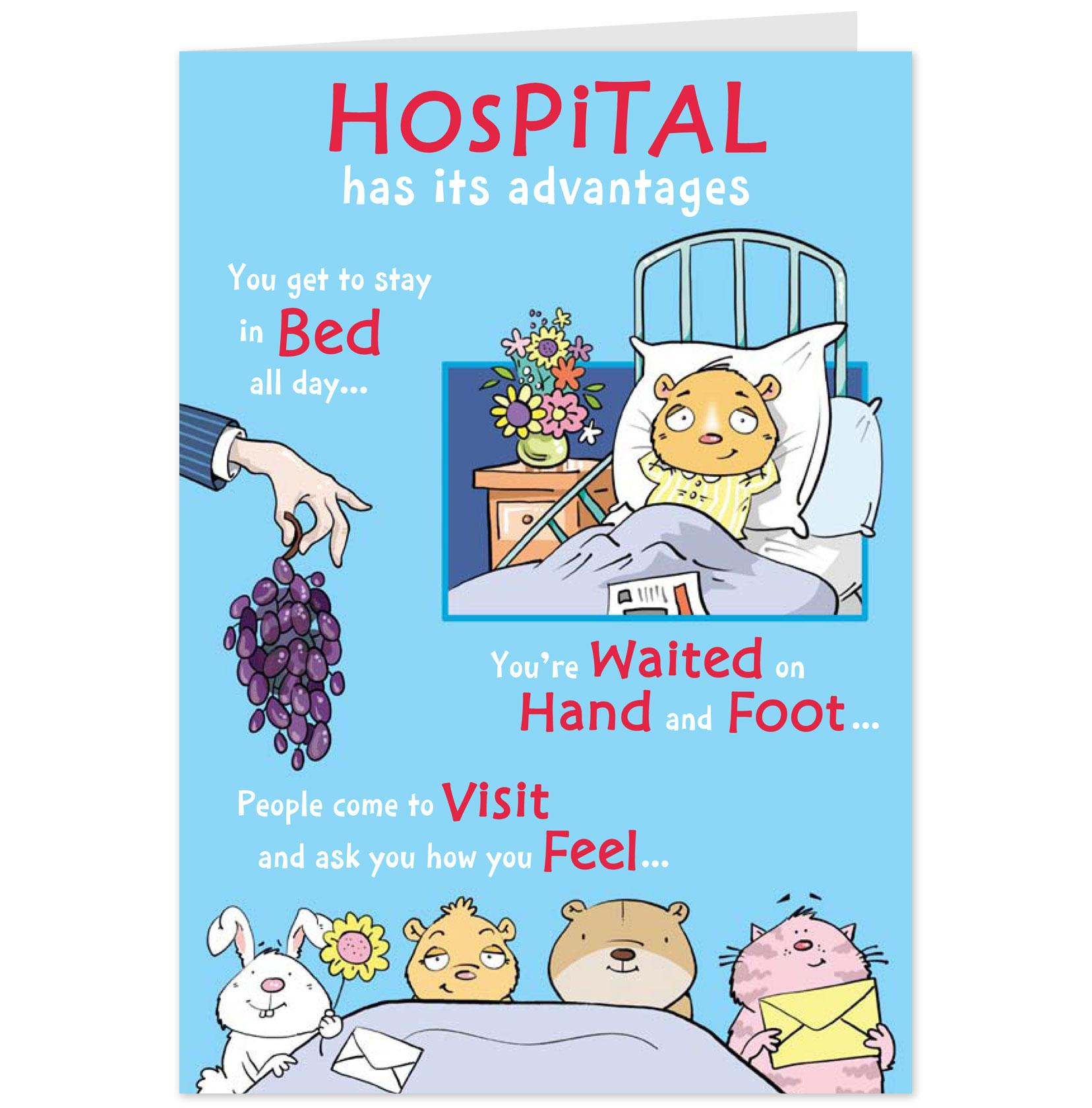 get well hospital funny quotes quotesgram