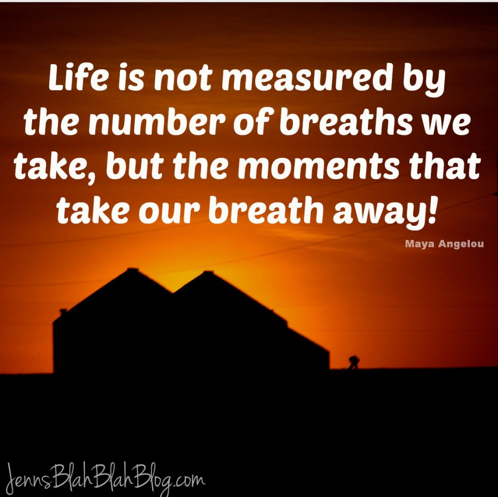 Life S Not About The Breaths You Take Quote: Inspirational Quotes Living Moment. QuotesGram