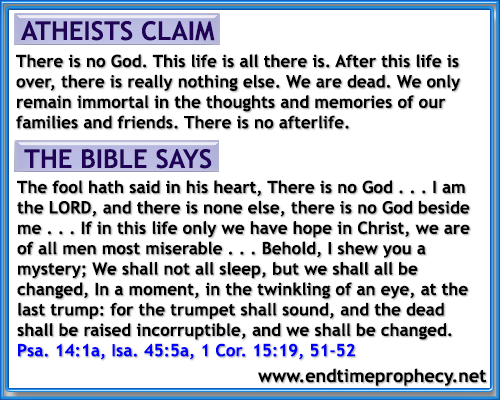 bible quotes on atheism quotesgram
