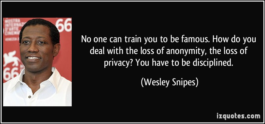 the loss of privacy will be