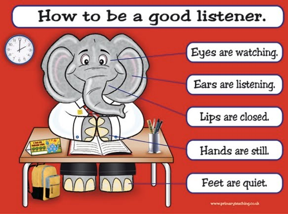 An essay on how to be a good listener