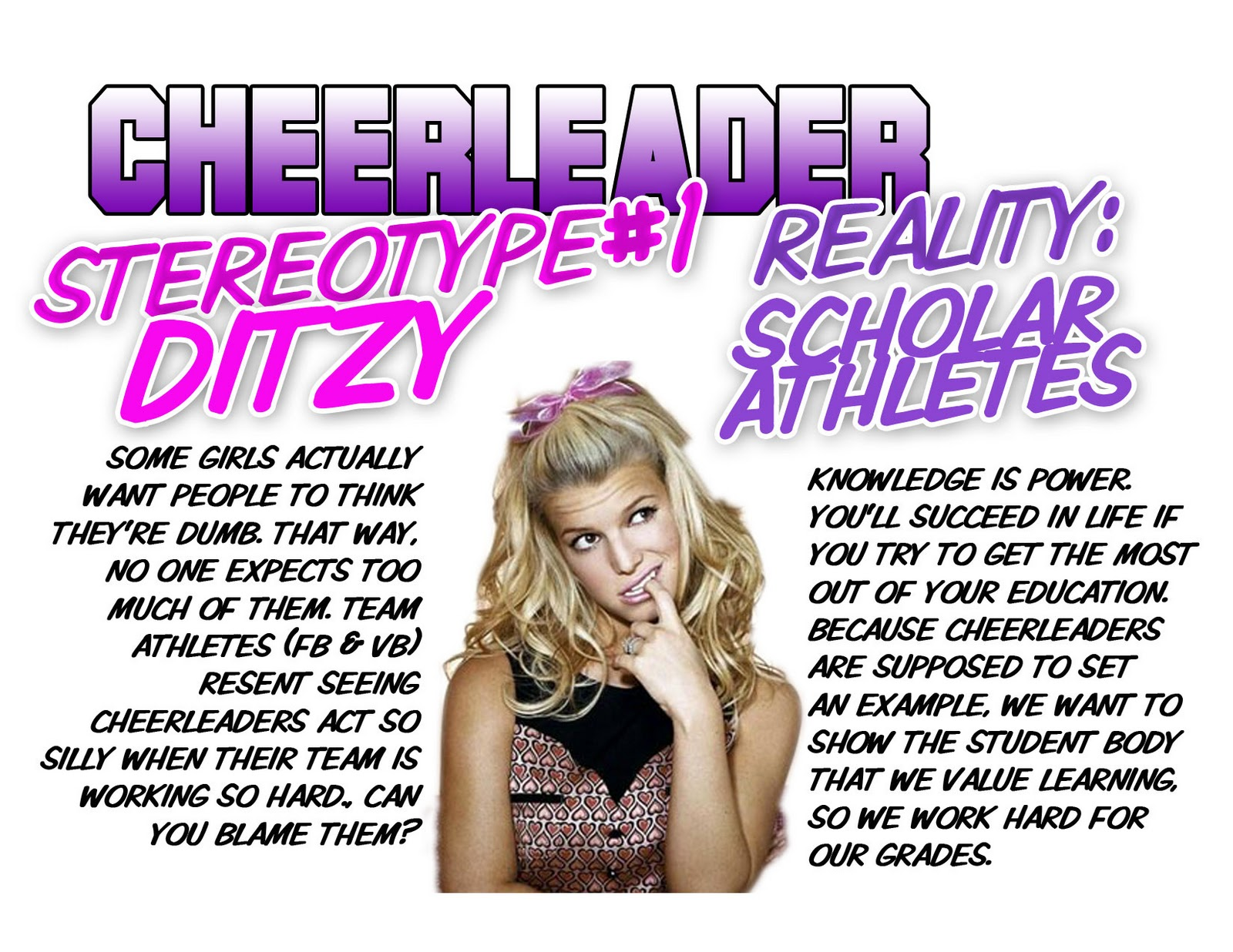 cheerleading stereotypes essays quotesgram