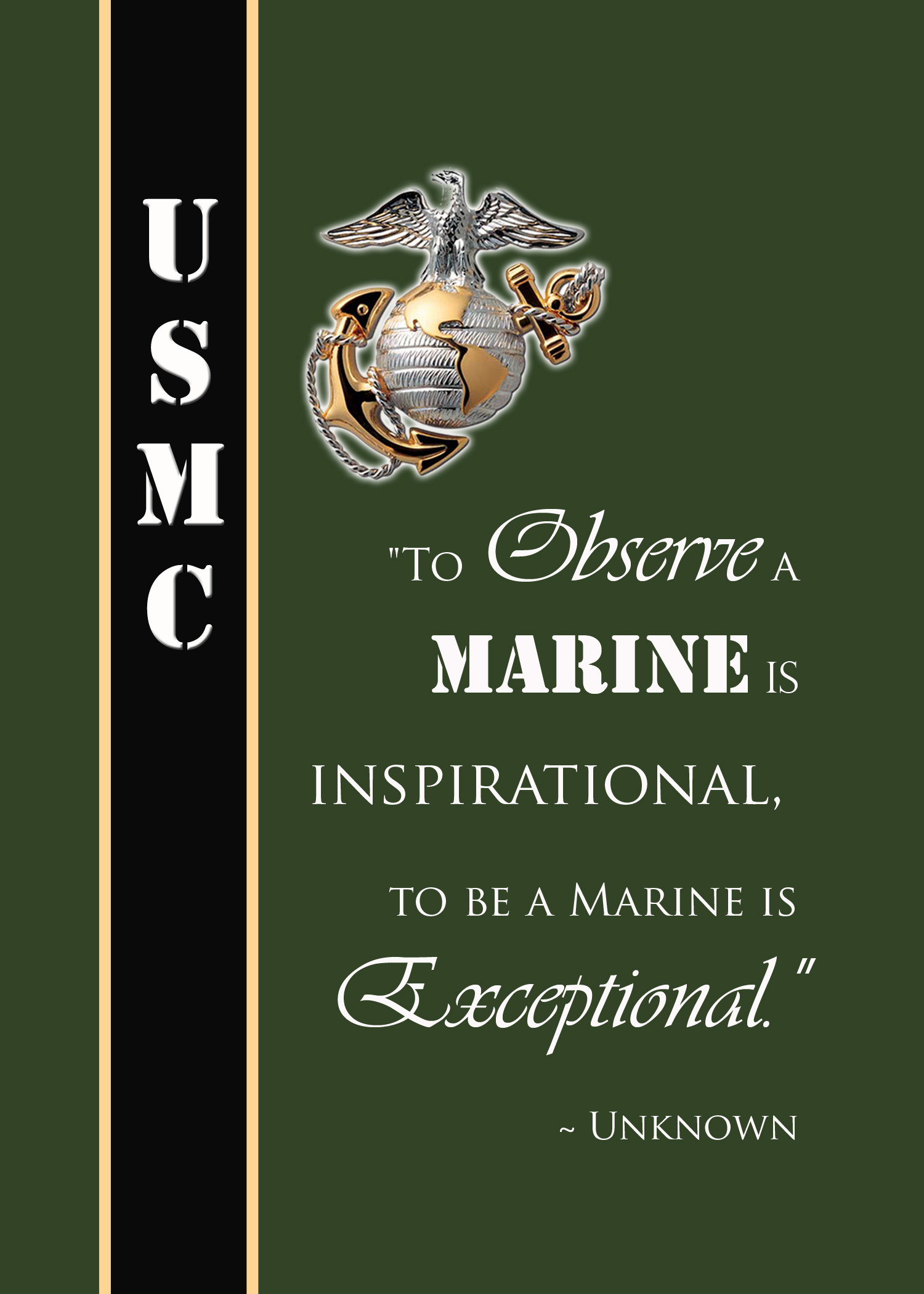 Happy Birthday Usmc Quotes ~ Most famous marine quotes quotesgram