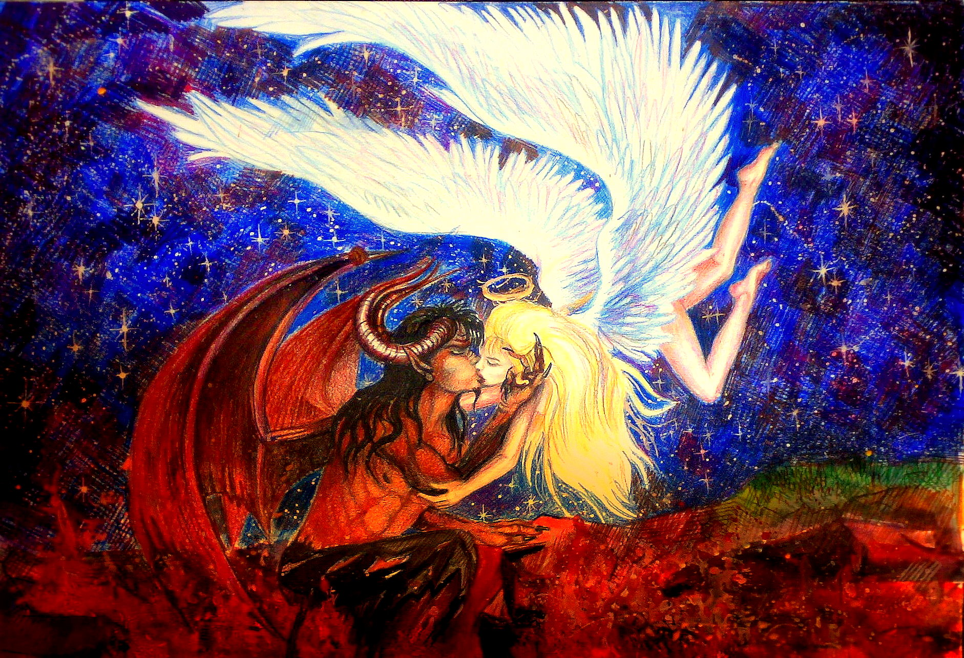Картинки ангелов и демонов