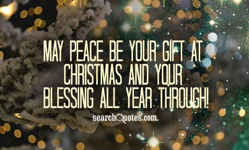 Peace Quotes And Sayings Quotesgram: Holiday Peace Quotes. QuotesGram
