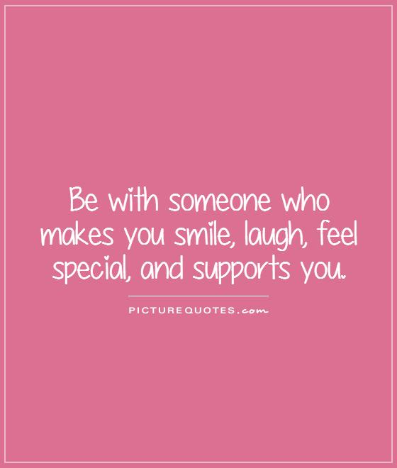 Quotes For Someone Special In My Life: Quotes About Someone Making You Smile. QuotesGram