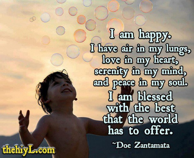 I Am Blessed Quotes And Sayings Blessed Life Quotes. Q...