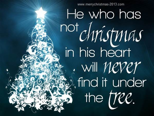 Christmas Quotes 21 Inspirational Sayings To Share During: Merry Christmas Sayings And Quotes. QuotesGram