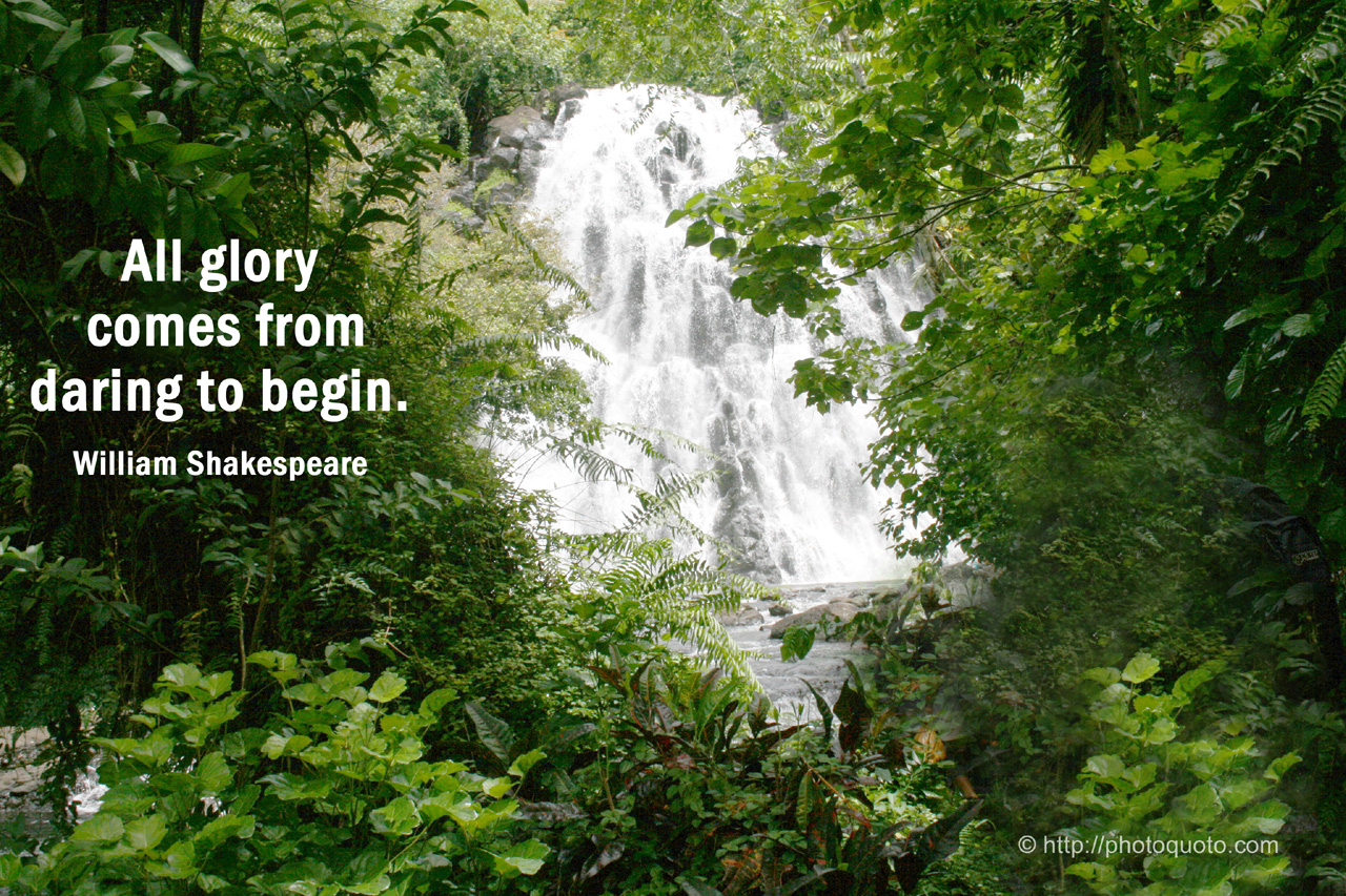 waterfall quotes sayings quotesgram