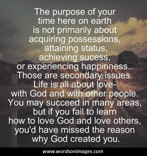 Purpose Of Life Quotes. QuotesGram