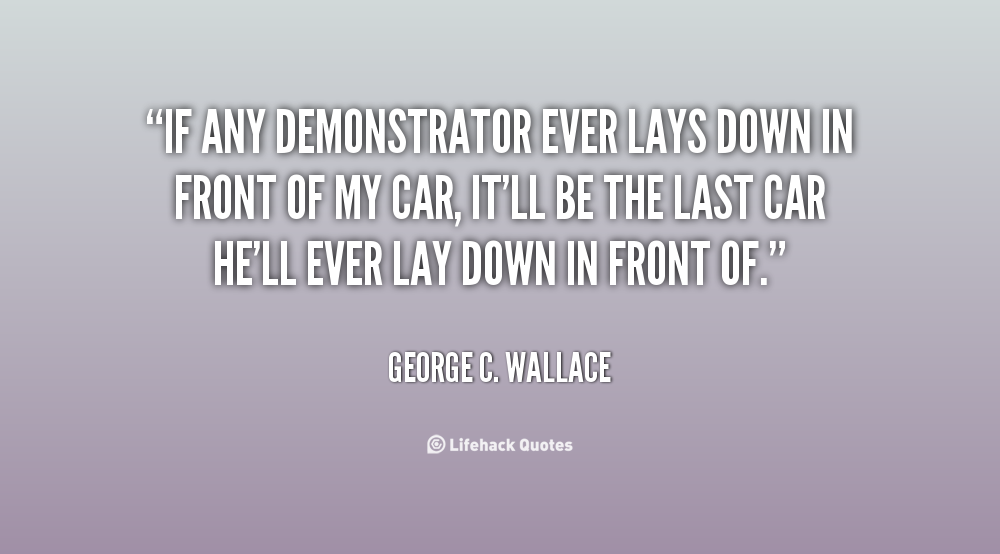 George C. Wallace Quotes. QuotesGram