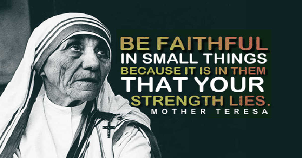 Mother Teresa Quotes Inspirational Quotesgram