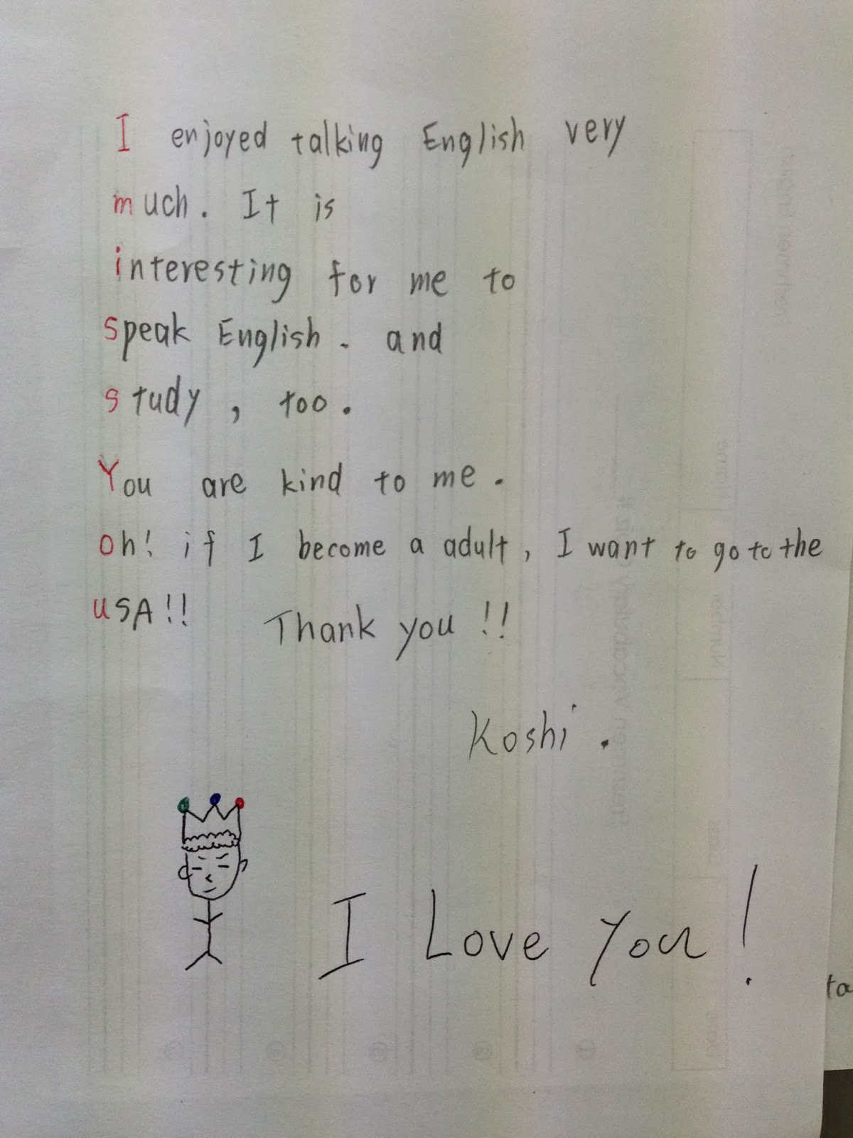 A Letter To Your Teacher