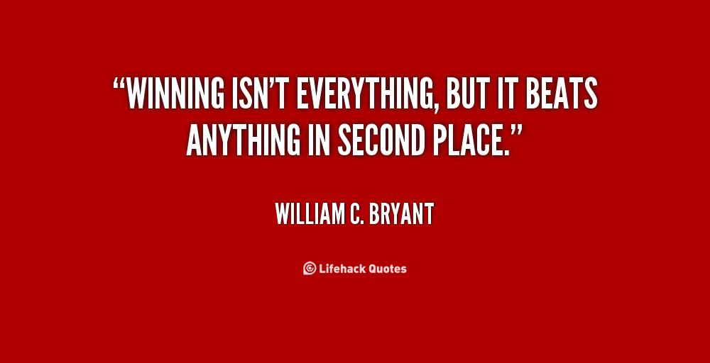 winning isnt everything