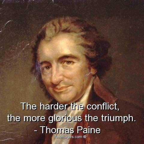 similarities and differences in thomas paine's Of the new jersey newspaper foundation : thomas paine's early years in england and america their tolerance for differences was and is very strong.
