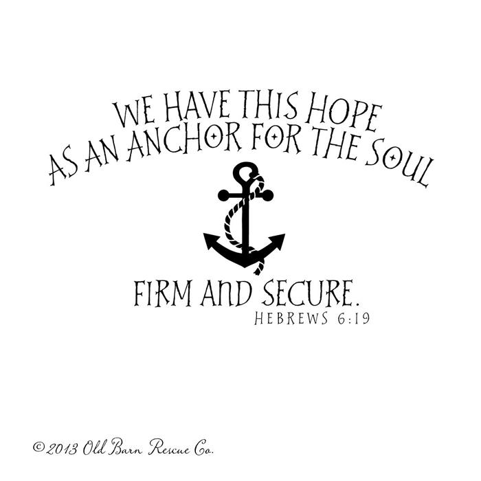 Anchor hope quotes quotesgram for Hope anchors the soul tattoo