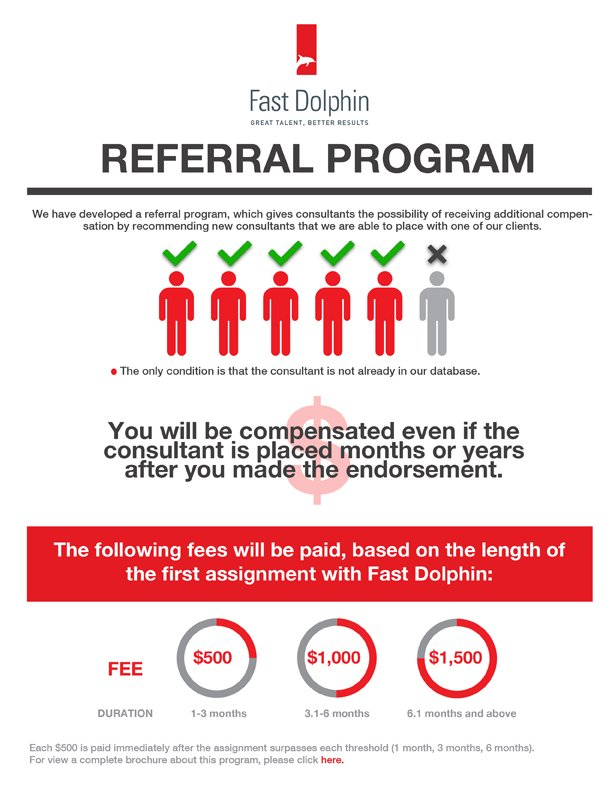 Template referral program Our Most