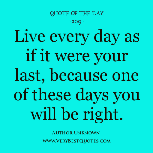 Love Quotes About Life: Quotes To Live By Everyday. QuotesGram