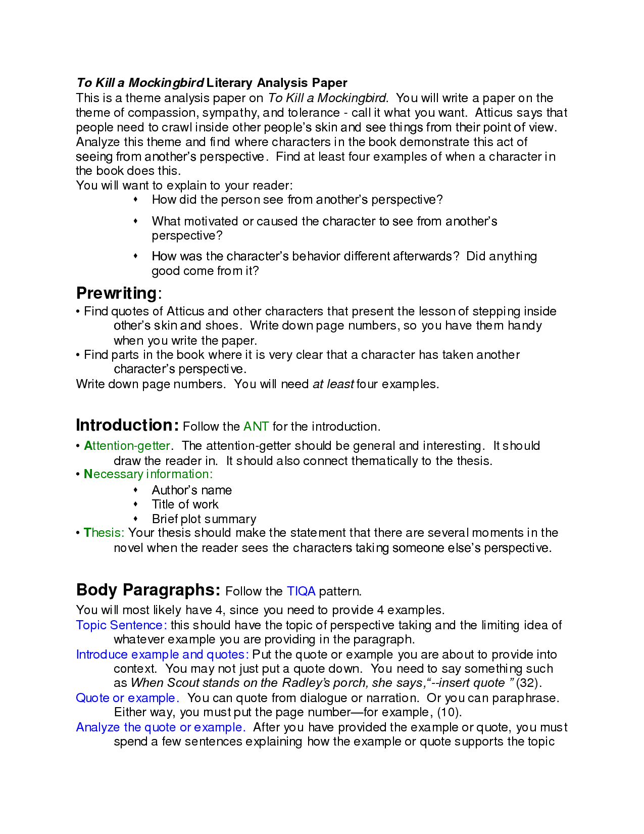 to kill a mockingbird essay compassion term paper help to kill a mockingbird essay compassion