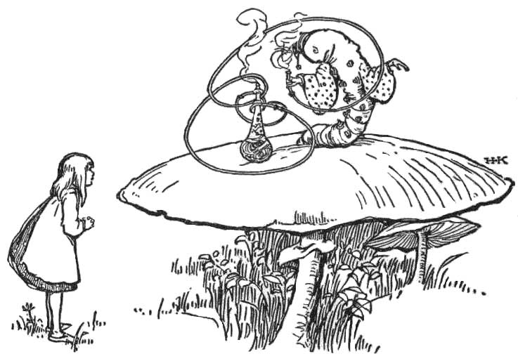 Mushroom Alice In Wonderland Quotes Quotesgram