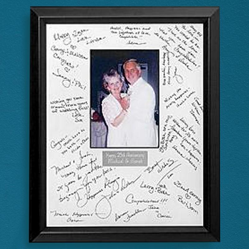 50th Birthday Signature Photo Frame: Frame Wedding Quotes. QuotesGram
