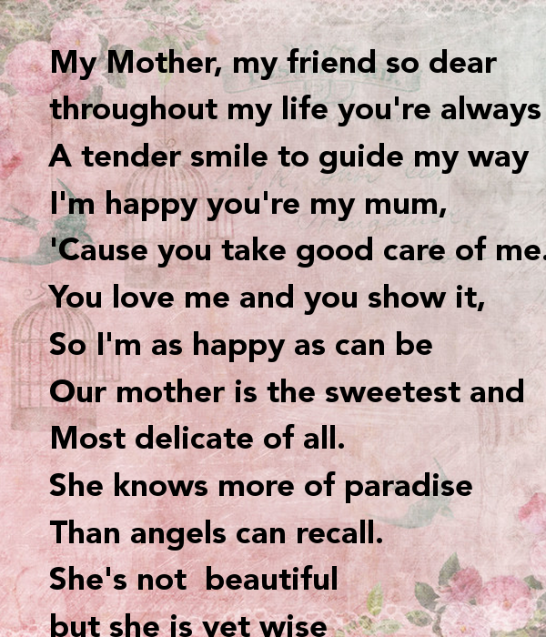 Take Care Of Your Mother Quotes: Im So Glad You Re In My Life Quotes. QuotesGram