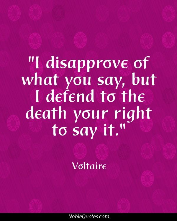 Voltaire Quotes Freedom Of Speech. QuotesGram