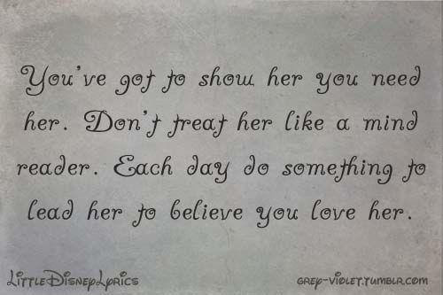 Disney Love Quotes Quotesgram