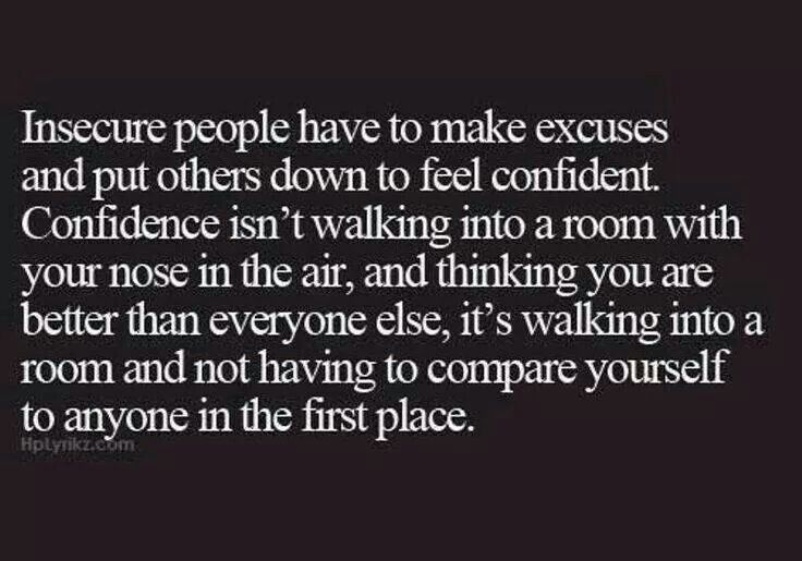 Insecure People Quotes. QuotesGram