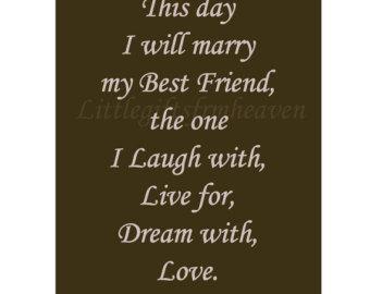 Best Friend Wedding Toast Quotes Quotesgram