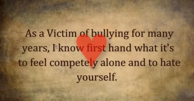teenage victims of bullying essay Essays related to criminalization of bullying and teenage girls often favor verbal and emotional bullying (teenage victims of chronic childhood bullying.